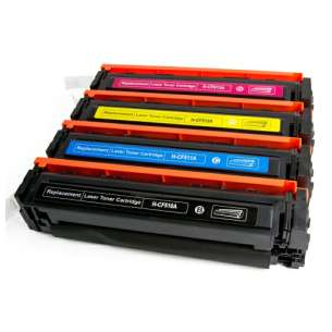 Compatible HP CF510A / CF511A / CF513A / CF512A (204A) toner cartridges - 4-pack