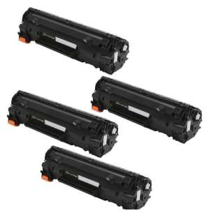 Compatible HP CF230X (30X) toner cartridge - WITHOUT CHIP - 4-pack