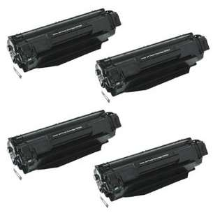 Compatible for HP CB436A (36A) toner cartridges - 4-pack