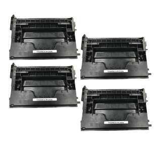 Compatible HP CF237A (37A) toner cartridges - 4-pack