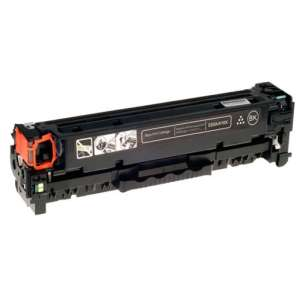Compatible HP CF410X (410X) toner cartridge - high capacity black