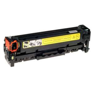 Compatible HP CF412X (410X) toner cartridge - high capacity yellow