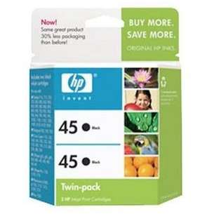 Original Hewlett Packard (HP) C6650FN (HP 45) Multipack - 2 pack