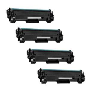 Compatible HP CF248A (48A) toner cartridges - 4-pack