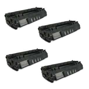 Compatible Atlantic Inkjet Canada HP Q5949A (49A) toner cartridges - 4-pack
