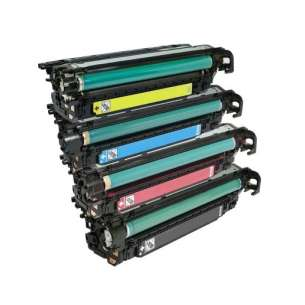 Compatible Atlantic Inkjet Canada HP 504X / 504A toner cartridges - 4-pack