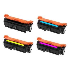Compatible Atlantic Inkjet Canada HP 507A toner cartridges - 4-pack