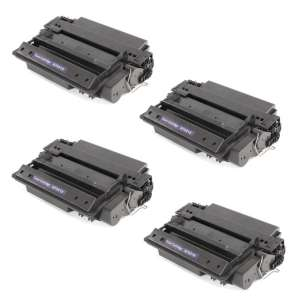 Compatible Atlantic Inkjet Canada HP Q7551X (51X) toner cartridges - 4-pack