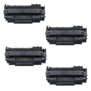 Compatible Atlantic Inkjet Canada HP Q7553X (53X) toner cartridges - 4-pack
