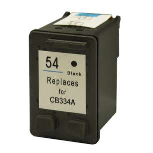 Remanufactured HP CB334AN (HP 54 ink) inkjet cartridge - black cartridge