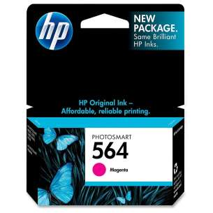 Original Hewlett Packard (HP) CB319WN (HP 564 ink) inkjet cartridge - magenta