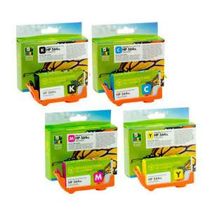 Premium ink cartridge replacement for HP 564XL - high capacity 4 pack - Made in the USA