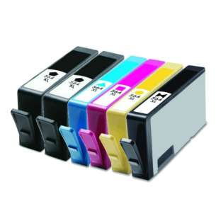 Remanufactured inkjet cartridges Multipack for HP 564XL - 6 pack