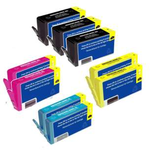 Remanufactured inkjet cartridges Multipack for HP 564XL - 9 pack