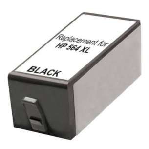 Remanufactured HP CB321WN (HP 564XL ink) inkjet cartridge - high capacity black