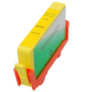 Remanufactured HP CB325WN (HP 564XL ink) inkjet cartridge - high capacity yellow