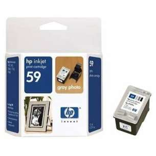 Original Hewlett Packard (HP) C9359AN (HP 59 ink) inkjet cartridge - photo gray