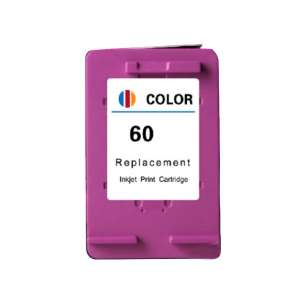 Remanufactured HP CC643WN (HP 60 ink) inkjet cartridge - color cartridge