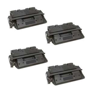 Compatible Atlantic Inkjet Canada HP C8061X (61X) toner cartridges - 4-pack