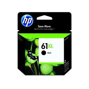 Original Hewlett Packard (HP) CH563WN (HP 61XL ink) inkjet cartridge - high capacity black