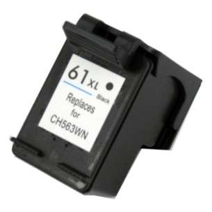 Remanufactured HP CH563WN (HP 61XL ink) inkjet cartridge - high capacity black