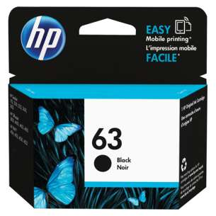 Original HP F6U62AN (HP 63) inkjet cartridge - black