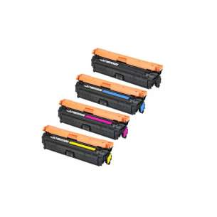 Compatible HP 651A toner cartridges - 4-pack