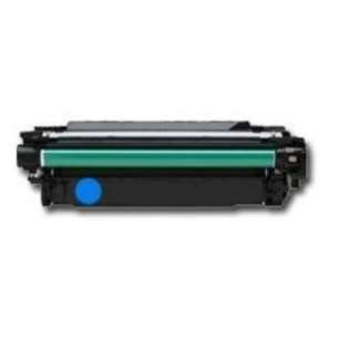 Compatible HP CE341A (651A) toner cartridge - cyan