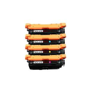 Compatible for HP 653X / 653A toner cartridges - 4-pack