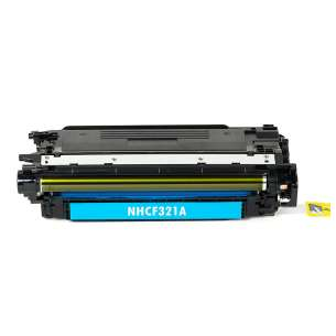 Compatible for HP CF321A (653A) toner cartridge - cyan