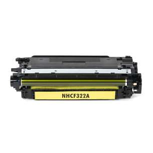 Compatible for HP CF322A (653A) toner cartridge - yellow