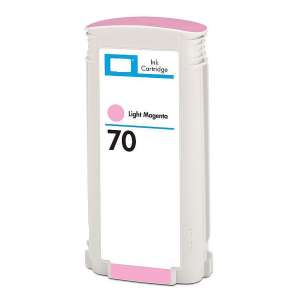 Remanufactured HP C9455A (HP 70 ink) inkjet cartridge - light magenta