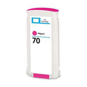 Remanufactured HP C9453A (HP 70 ink) inkjet cartridge - magenta