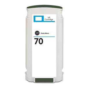 Remanufactured HP C9449A (HP 70 ink) inkjet cartridge - photo black