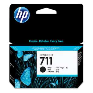 Original Hewlett Packard (HP) CZ129A (HP 711 ink) inkjet cartridge - black cartridge