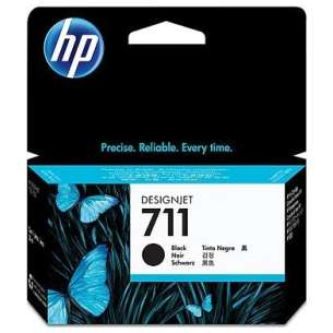 Original Hewlett Packard (HP) CZ133A (HP 711XL ink) inkjet cartridge - high capacity black