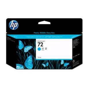 Original Hewlett Packard (HP) C9371A (HP 72XL ink) inkjet cartridge - high capacity cyan