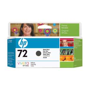 Original Hewlett Packard (HP) C9403A (HP 72XL ink) inkjet cartridge - high capacity matte black