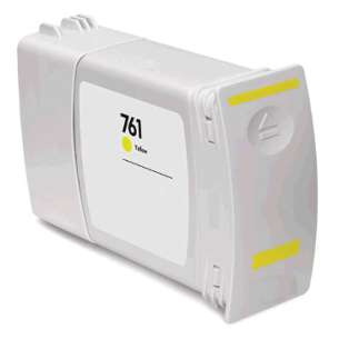 Remanufactured HP CM992A (HP 761 400ml ink) inkjet cartridge - yellow