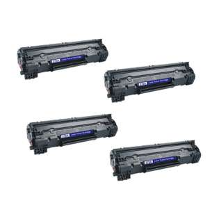Compatible Atlantic Inkjet Canada HP CE278A (78A) toner cartridges - jumbo capacity - 4-pack