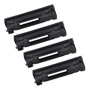 Compatible for HP CF279A (79A) toner cartridge - 4-pack