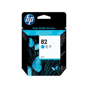 Original Hewlett Packard (HP) C4911A (HP 82XL ink) inkjet cartridge - cyan