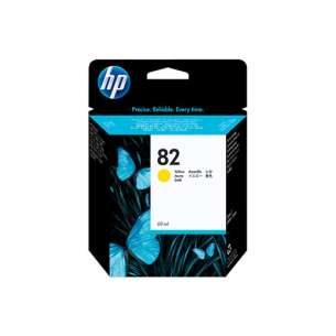 Original Hewlett Packard (HP) C4913A (HP 82XL ink) inkjet cartridge - yellow