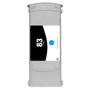 Remanufactured HP C4941A (HP 83 ink) inkjet cartridge - cyan