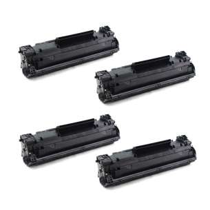 Compatible Atlantic Inkjet Canada HP CF283A (83A) toner cartridges - 4-pack