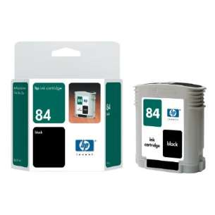 Original Hewlett Packard (HP) C5016A (HP 84 ink) inkjet cartridge - black cartridge