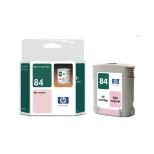 Original Hewlett Packard (HP) C5018A (HP 84 ink) inkjet cartridge - light magenta