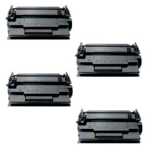Compatible Atlantic Inkjet Canada HP CF287A (87A) toner cartridges - 4-pack