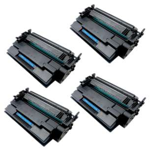 Compatible Atlantic Inkjet Canada HP CF287X (87X) toner cartridges - 4-pack