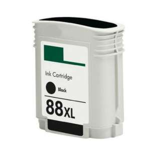 Remanufactured HP C9396AN (HP 88XL ink) inkjet cartridge - high capacity black